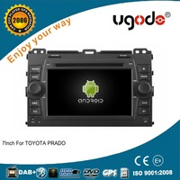 ugode Android 4.4.4 car multimedia system for Toyota Prado android car dvd 2006 - 2010