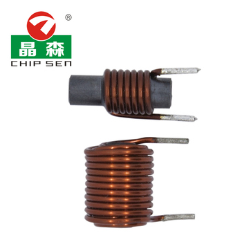 Chipsen 4.7uh R Type Ferrite Rod Induction Coil Inductor for Auto Motor R rod Induction Coil size and inductance customized