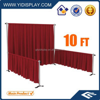 Hot sale trade show pipe and drape kits with good price