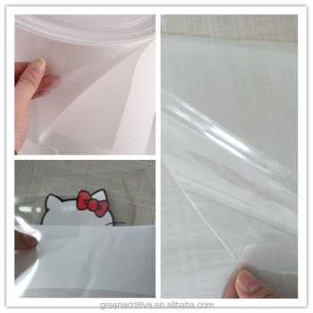 0.24m*30m PET transfer picture transparent film crystal paper mask for dark color eco solvent heat transfer rhinestone paper