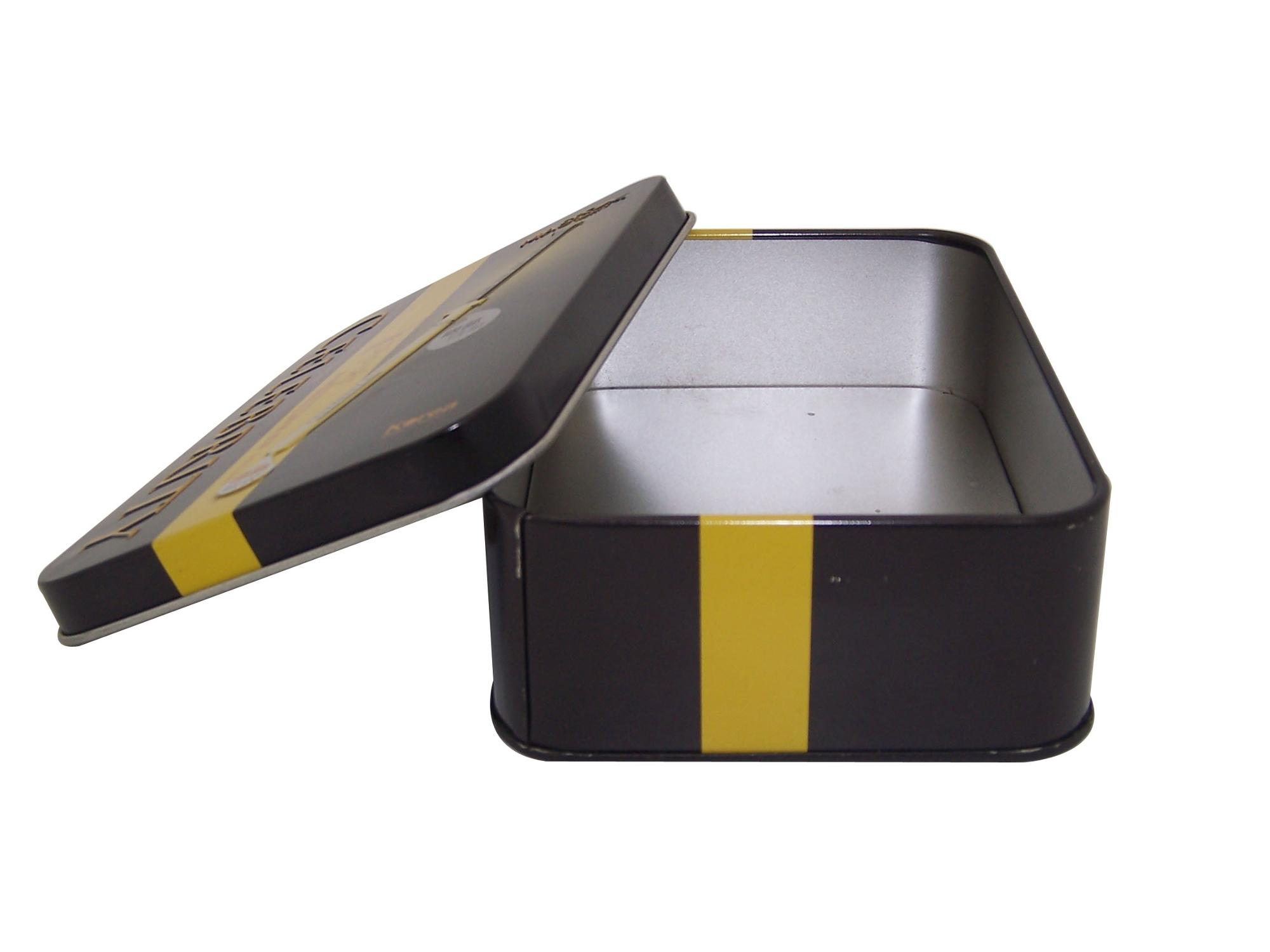 Rectangle tin box