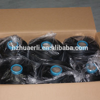 DTY 400D/96F Raw Black Polyester Yarn SIM SD AA wholesale