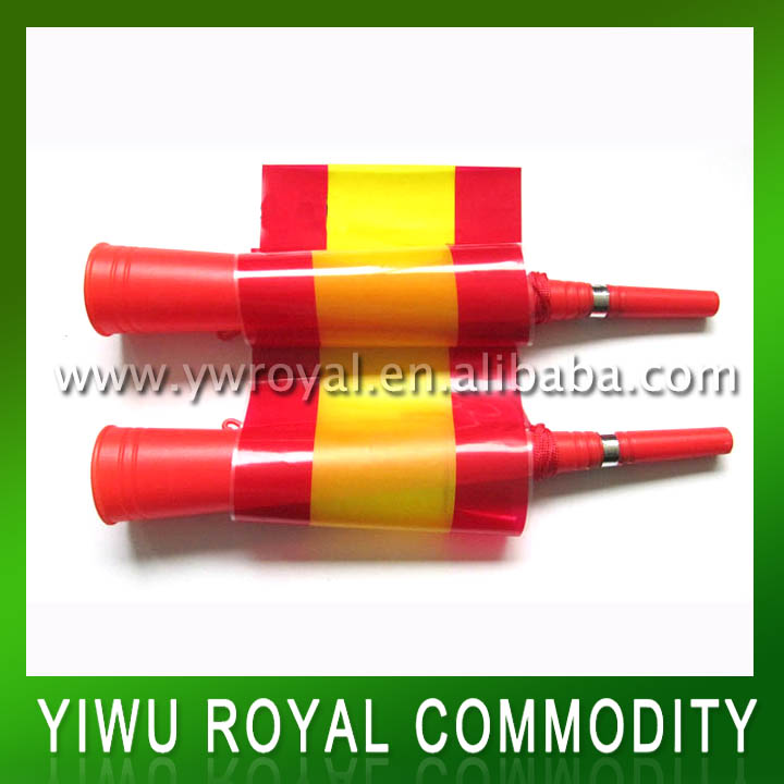 Wholesale Spanish Flag Fans Vuvuzela Trumpet