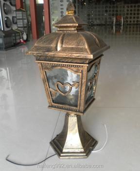Vintage Pillar Light Garden Lamp HF 8136T