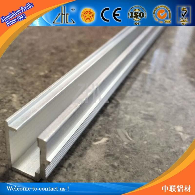 Relativ 6063 T5 Aluminium Mini Extrusion Profiles Factory / U Profil  TP12