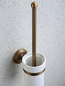 European copper antique toilet brush holder,toilet brush Cup set,toilet brush toilet bathroom accessories,rustic toilet brush glass holder,toilet brush holder
