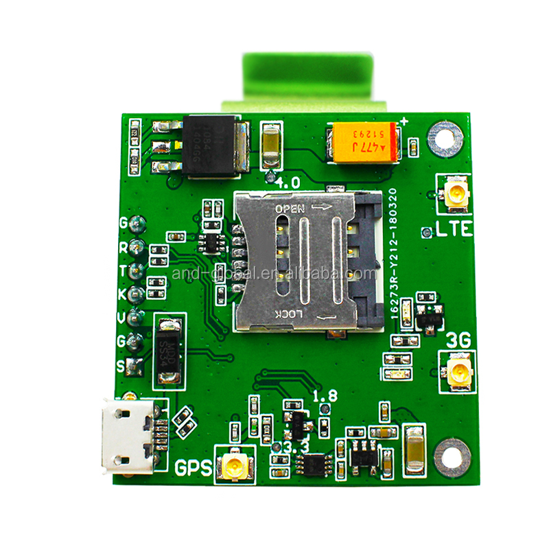 2G 3G GSM 850MHz 1900MHz testing kit,3G GPS SIM5360A breakout board,Cellular US 3G GPS NMEA SIM5360A on board