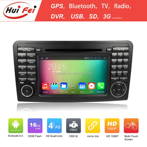 Huifei Quad Core Capacitive 1024*600 Touch Screen Mirror Link Obd In Car Entertainment For Mercedes-Benz Ml-W163 Car Radio