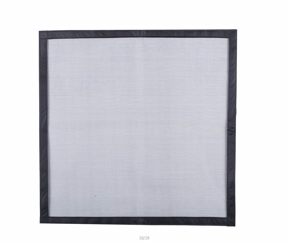 Full fastener Fiberglass mesh window anti-mosquito invisible <strong>screens</strong>