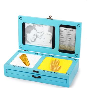 2018 New Wood Newborn Baby Storage Box For Baby Shower Gifts