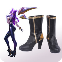 Ботинки Cosroad LOL KDA, ботинки для костюмированной вечеринки, ботинки для мужчин и женщин, ботинки для Хэллоуина(Китай)