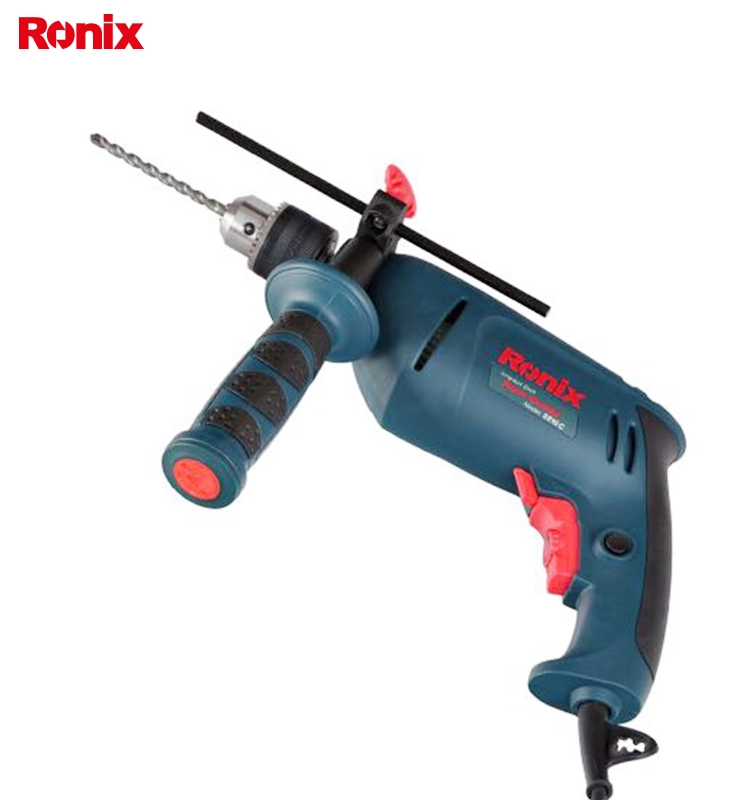 Ronix High Quality model 2210 13mm Power Drill Electric Impact Drill Machine.