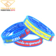 custom silicone arm band silicone rubber wristband debossed silicone bracelet