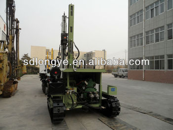 The best selling!CTQ-D100YA2-2 blasting drill rigs