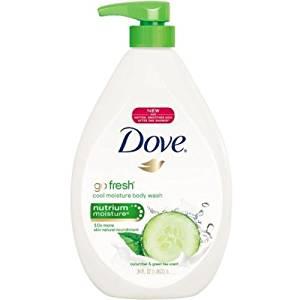 Dove Go Fresh Cool Moisture Body Wash, 34 Ounce -- 4 per case.
