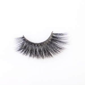 3D fluffy mink eyelashes black cotton stalk belle lashes