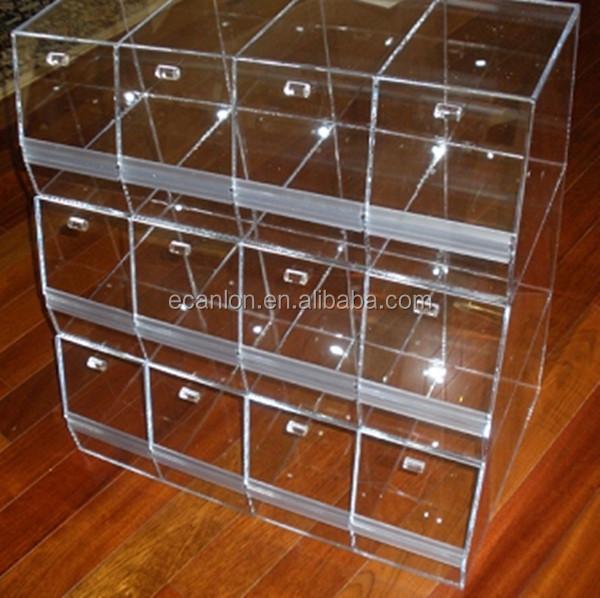 Attractive Multi Layer Plexiglass Storage Bin