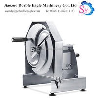 Factory price sale manual stainless steel mini turnip slicer/cutter fruit slices machine/vegetables slicing machine