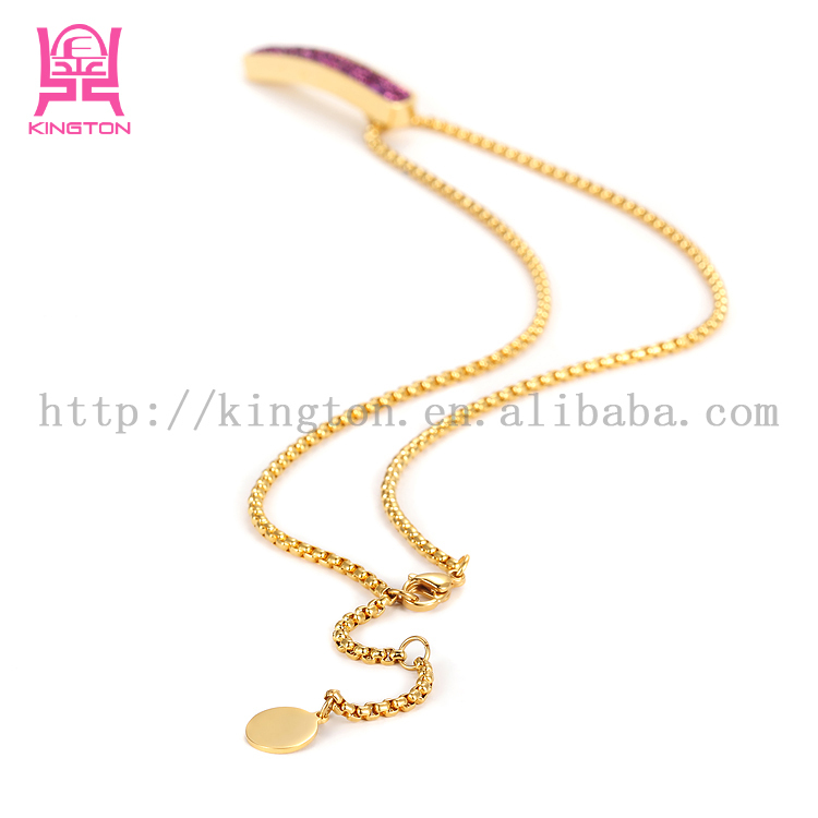 latest design simple gold chain necklace for women, View latest ...