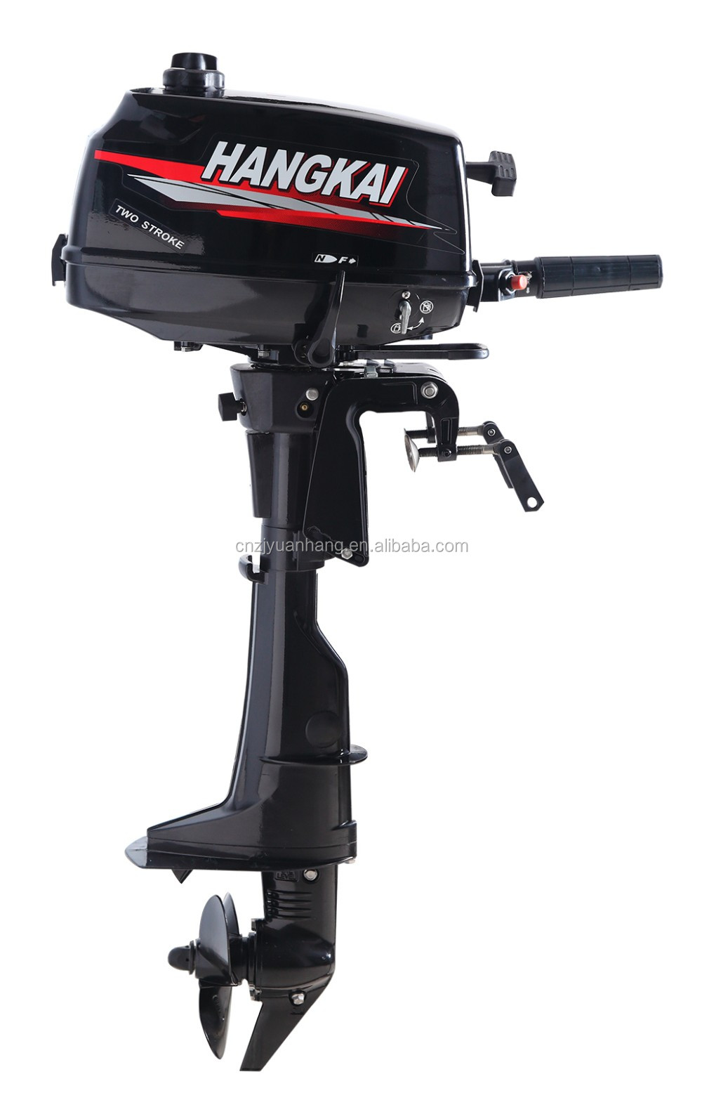 Hangkai 4hp 2 Stroke Outboard Motor For Inflatable Boat