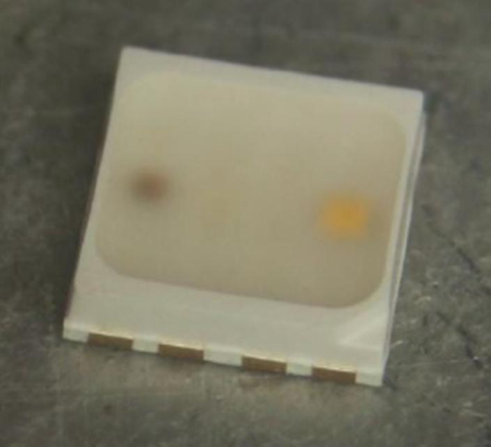 S923-50 pièces smd LED plcc 6 5050 blanc chaud 3-chip Leds Chaud white