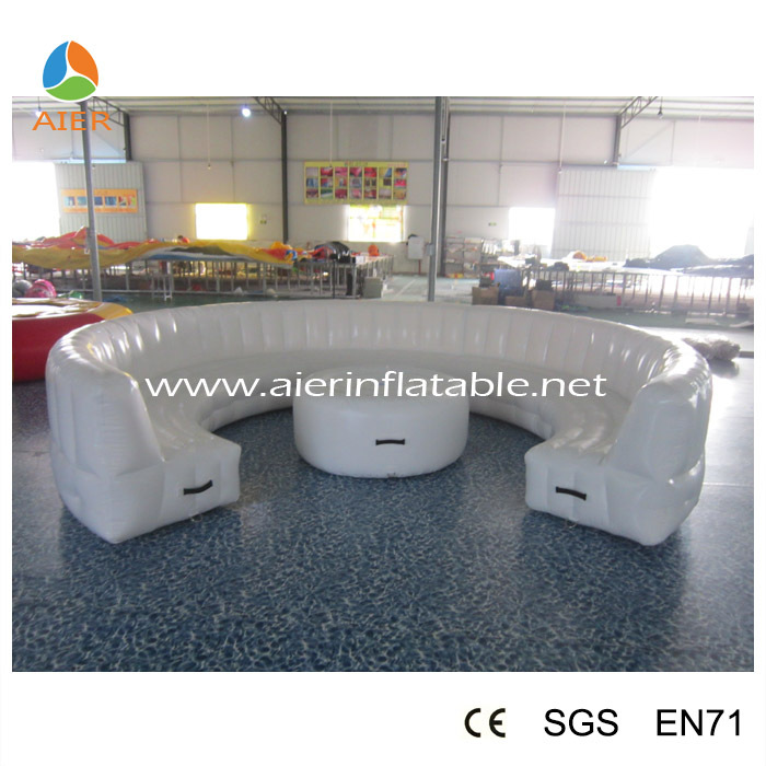 Inflatable Lawn Furniture: Led Cheap Inflatable Sofa,Inflatable Outdoor Sofa For Sale