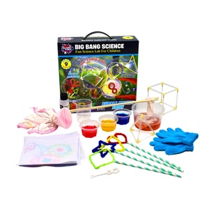 fun time science toy kit Bubble Making Show for kids