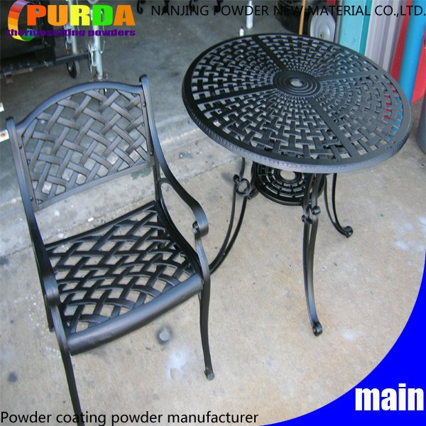 Exterior Furniture Polyester Outdoor Textured Paint