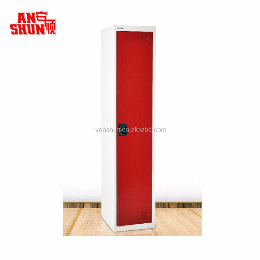 Fas-009 Army Clothes Hanging Cheap 1 Single Door Steel