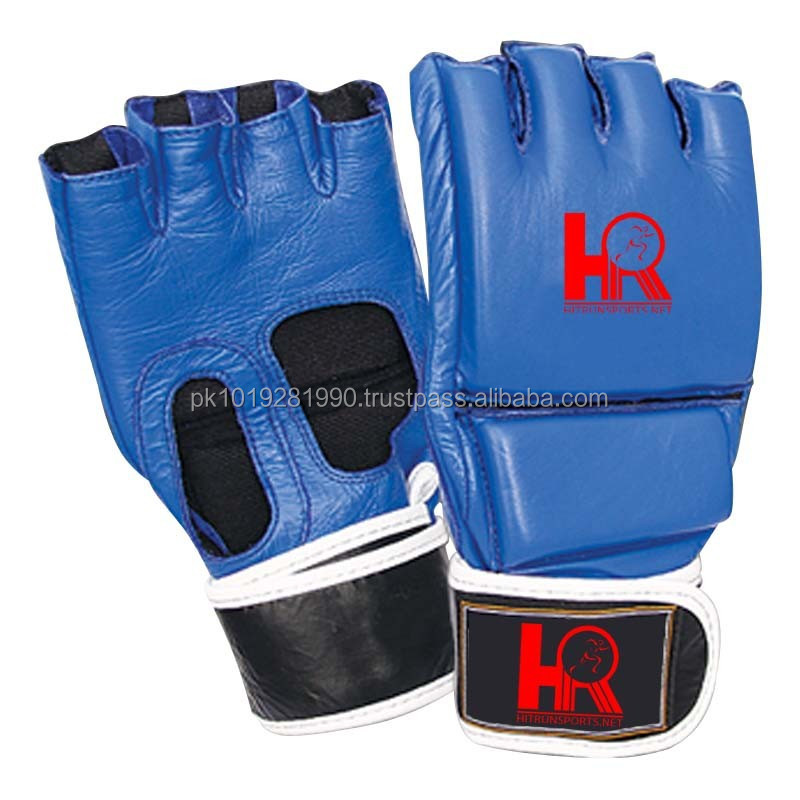 Free Shipping Open Palm with Full Thumb Support. MMA Gloves