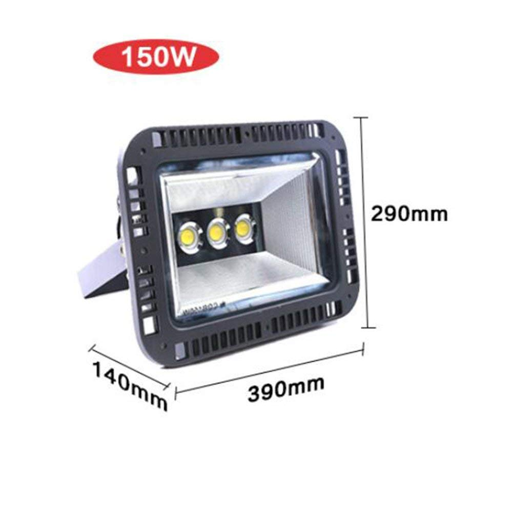 XZB 30W Outdoor LED Flood Lights, 200W Spotlight, Waterproof IP65,cool White, Security Lights, Floodlight,Wall Washer Light (Wattage : 150W cool white)