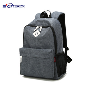 cheap blank canvas school backpack 2018 for children