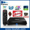 Experienced factory supply! full HD 4k tv box amlogic S802 octo-core mail-450 m8 tv tuner box for lcd monitor