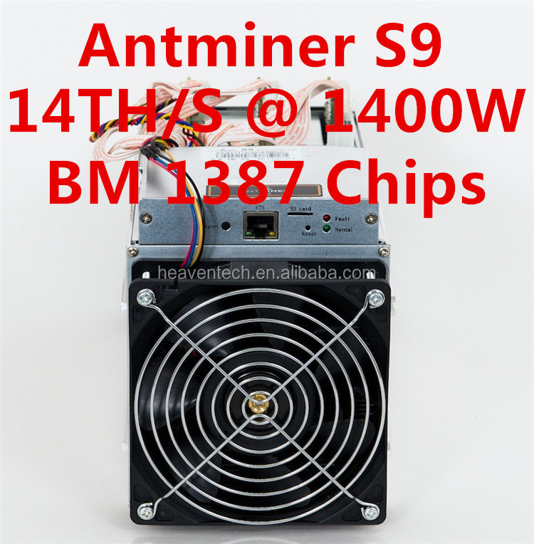 2016 factory supplier asic scrypt bitcoin miner S9,Ethereum coin miner