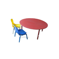 kindergarten furniture school desk and chair for kids