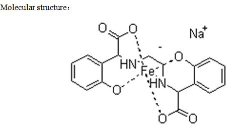 EDDHA Fe 6% Iron Powder o-o: 3.6/4.2/4.8 Chelate Fertilizer