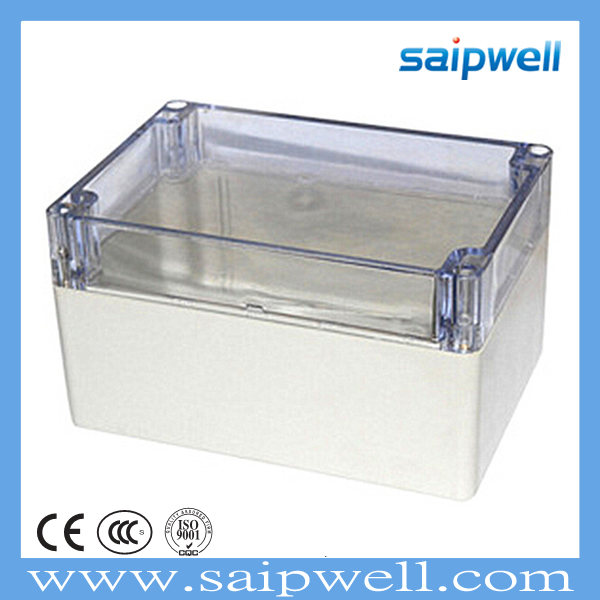 SAIP/SAIPWELL 160*110*90 General <strong>Electrical</strong> Instrument Box Clear Cover Plastic ABS Waterproof IP65 Junction Box
