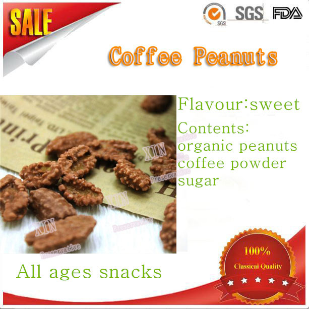 groundnuts snack best selliing wholesale price coffee coated peanuts snacks/mixed flavor coated peanuts/coffee coated peanut
