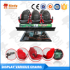 hot sales dynamic hydraulic movies system truck mobile 5d theater simulator equipment 5d cinema