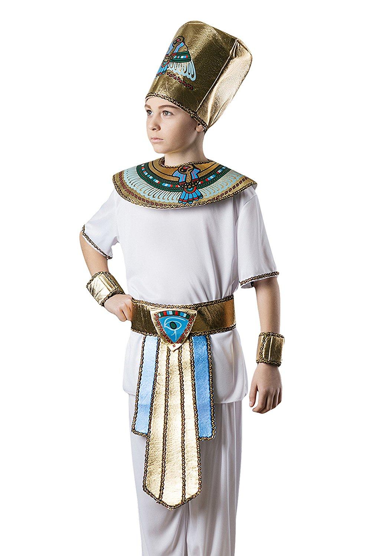 buy kids boys pharaoh king tut halloween costume egyptian god dress