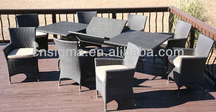 sigma marke! gartenmöbel 9pc terrasse kompakt esstisch set-set im, Esstisch ideennn