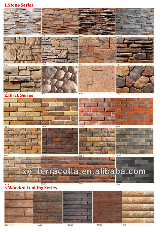 Faux Wall Brick Tiles Decorative Tile Red