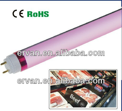 Pink color different kind of tubes light with lockable rotating end cap