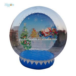 Cheap Christmas Inflatable Human Snow Globe For Sale