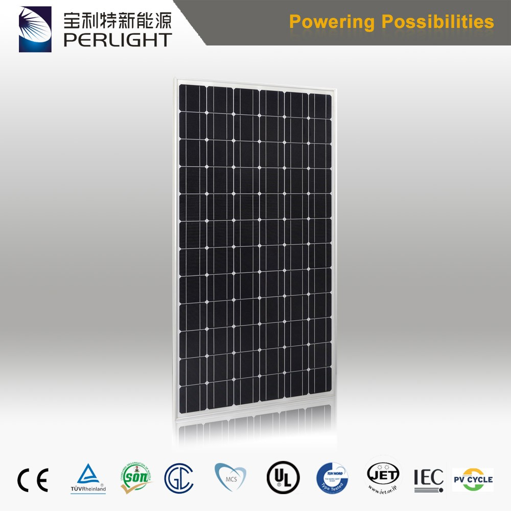 Top Supplier High Quality High Efficiency 300W 350w Mono Solar Panel