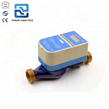 best selling hot chinese products brass IP68 6 inch  digital water flow meter