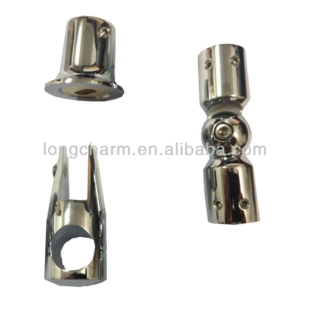brass material 19mm or 25mm pipe glass connector