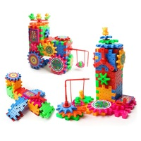 81PCS Funny Brick Toys Colorful Electric Building Block Toys
