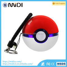 Genuine Pokeball Toy funny Power Bank 12000 mAh Pokemon go Magic Ball with competitive price LED light Double USB Fast Charger