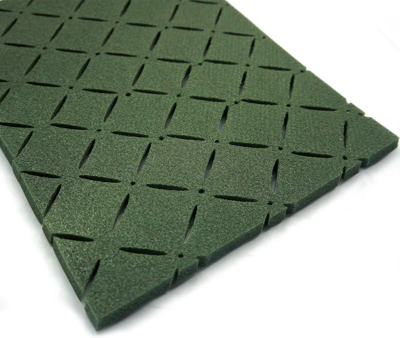 artificial grass rubber floor XPE shock pad for synthetic turf ground
